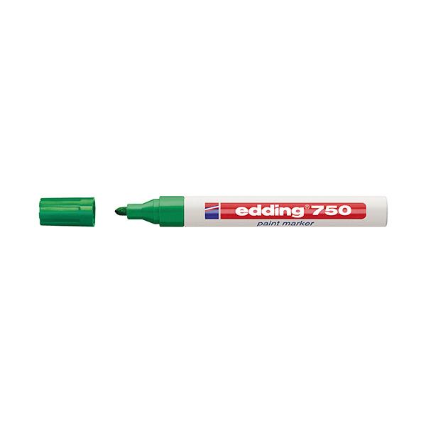 Rotulador permanente Edding 750 Verde