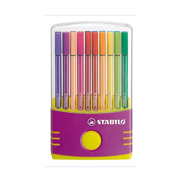 Estuche 20u Color Parade Stabilo Pen 68