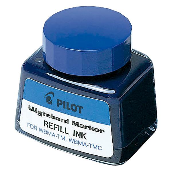Tinta para marcador pizarra blanca de Pilot azul 30 ml