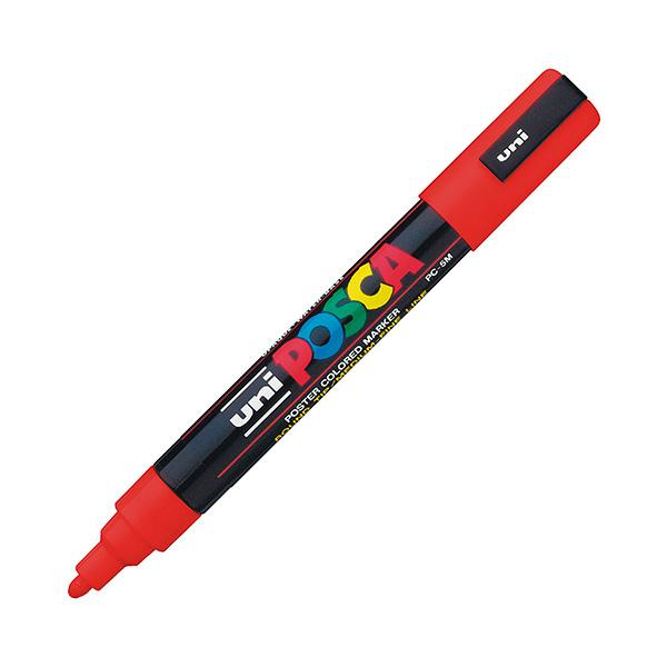 Marcador permanente Uni Posca PC-5M Rojo