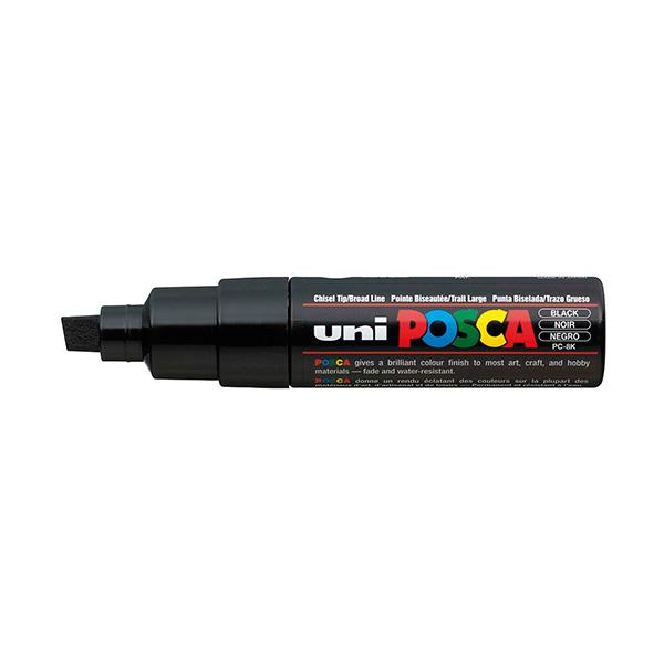 Marcador permanente Uni Posca PC-8K Negro