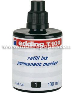 Tinta de rellenado para marcado Edding T-1000 Rojo