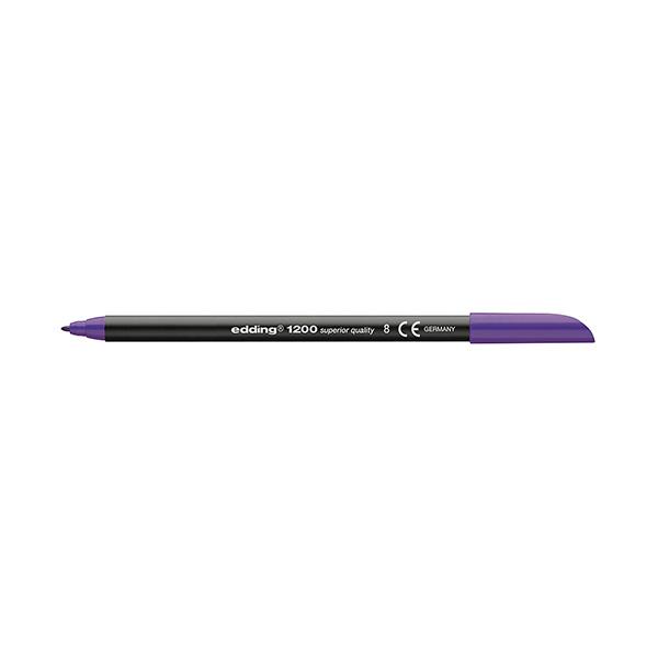 Rotulador Edding 1200 de punta de fibra Violeta