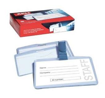 Caja 25u identificador con pinza Apli 100X72