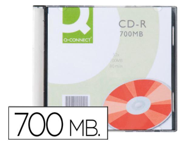 CD-R caja slim 700Mb 52x