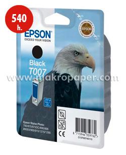 Cartucho inkjet Epson T007 Negro