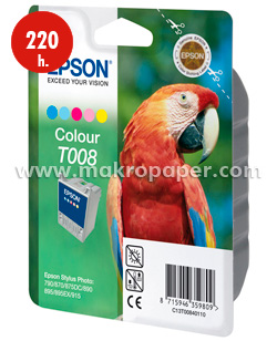 Cartucho inkjet Epson T008 3 col