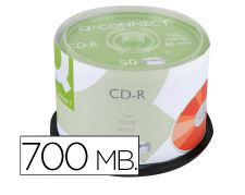 Tarrina 50u CD-R 700Mb 52x