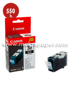 Cartucho inkjet CANON 3e (BCI-3BK) Negro