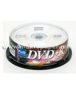 DVD-R Plus Office Tarrina 4.7Gb 25u