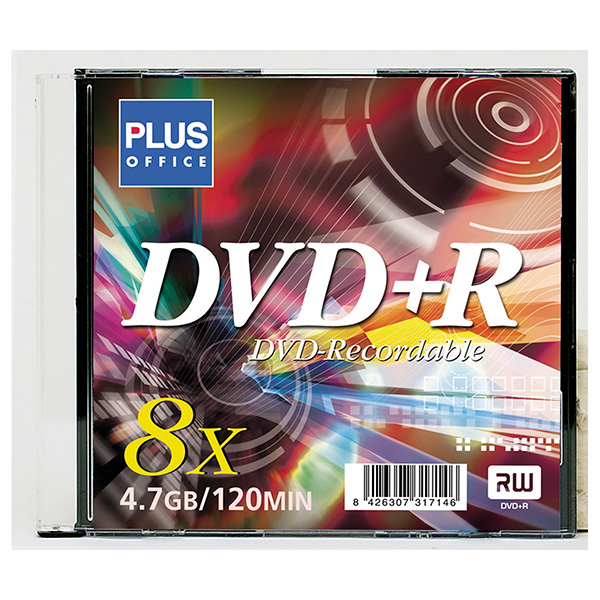 DVD+R Plus Office Jewell Case 4.7Gb 10u