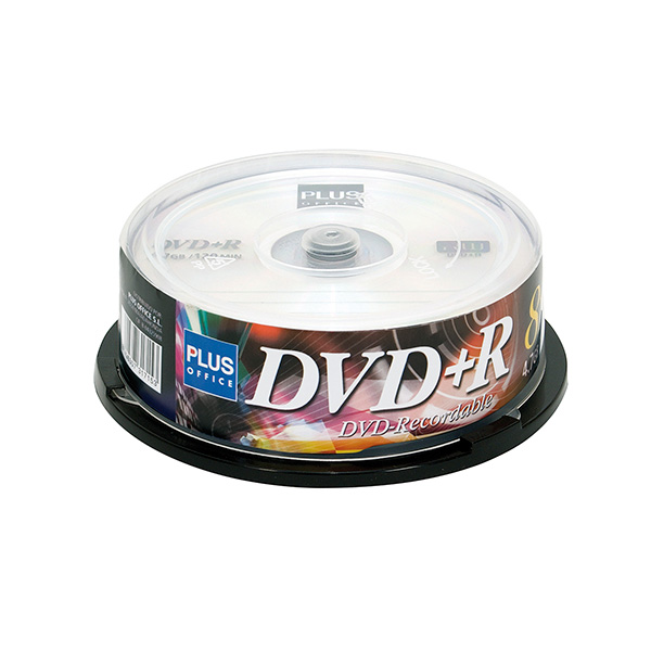 DVD+R Plus Office Tarrina 4.7Gb 25u