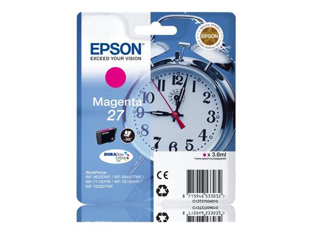 EPSON T270340 INK MAGENTA 27 3620/3640/7110/7610