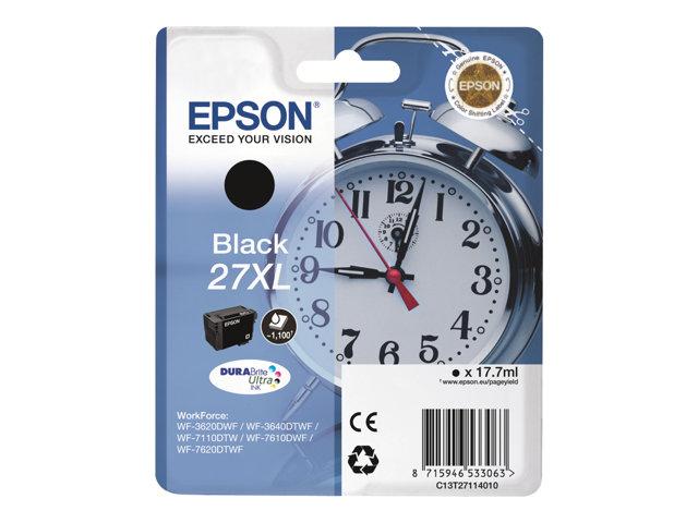 EPSON T271140 INK NEGRE 27XL WF3620/3640/7110/7610