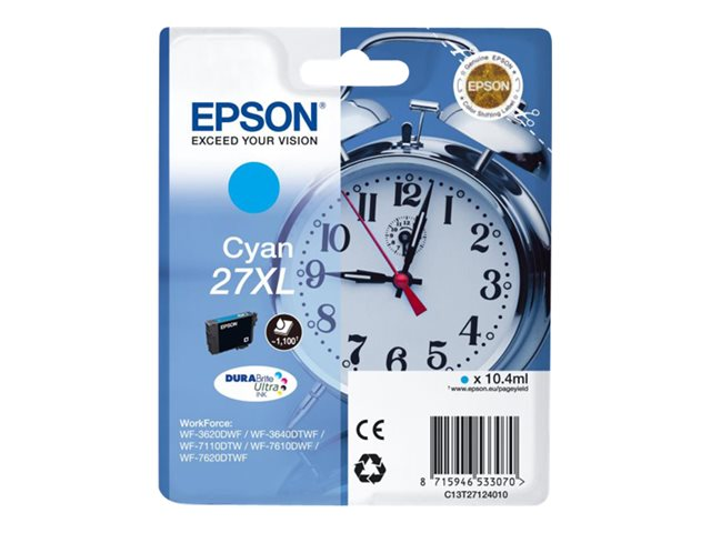 EPSON T271240 CARTUTX TINTA CIAN 27XL
