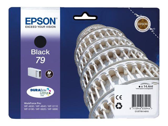 EPSON T791140 INK NEGRE 79 4640/5110/5190/5620