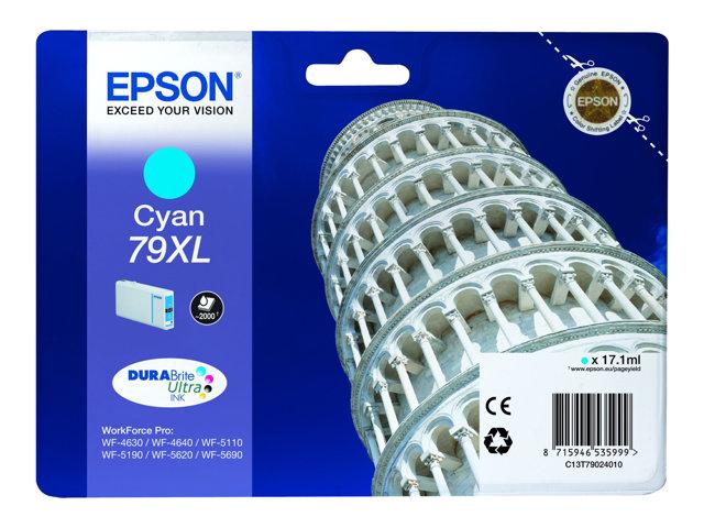 EPSON T790240 CARTUTX CIAN 79XL 2000PG