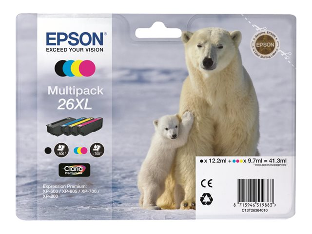 EPSON T263640 MULTIPACK CARTUTX 26XL