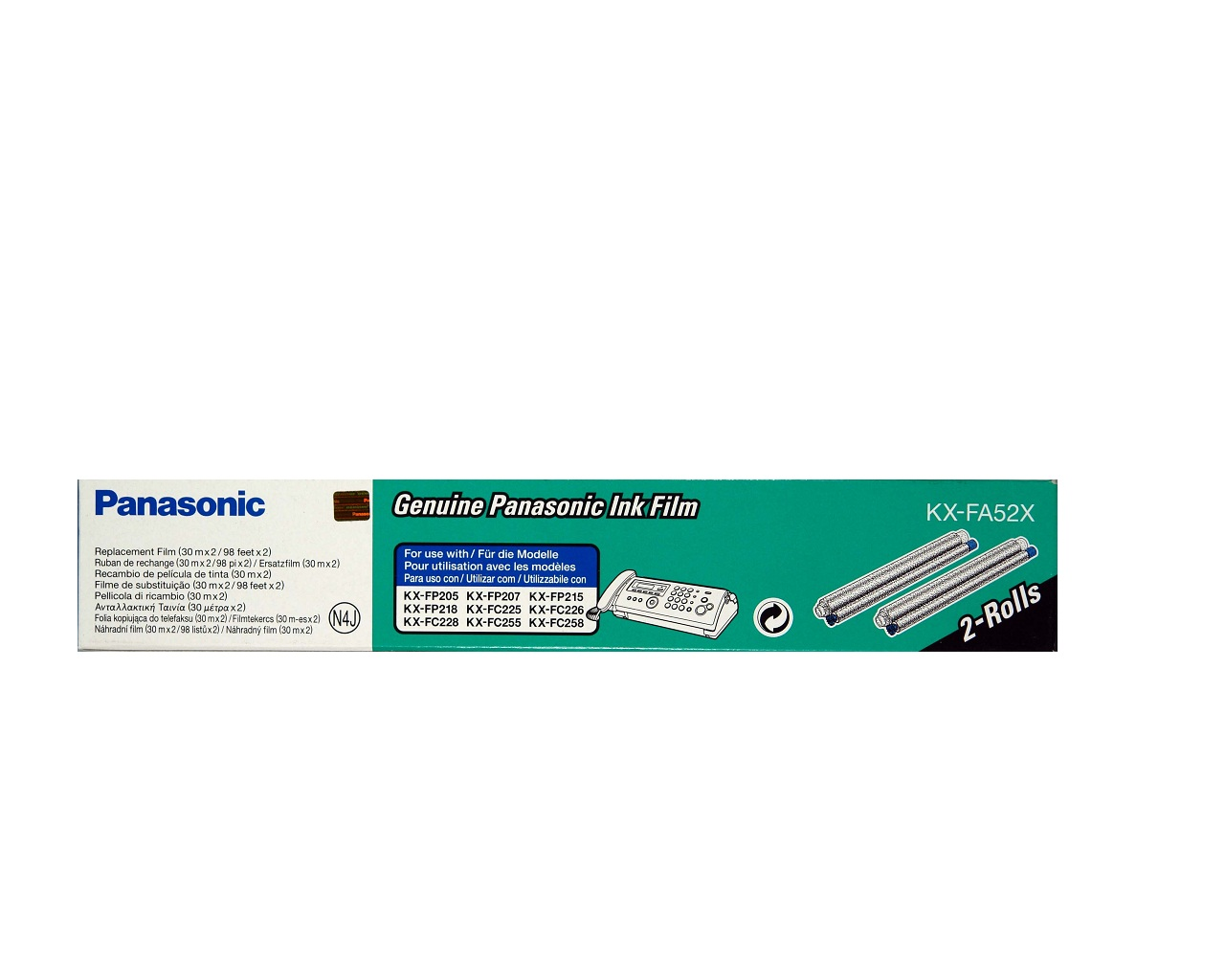 PANASONIC KX-FA52X FAX KXFP205/225/255 (2X30M)