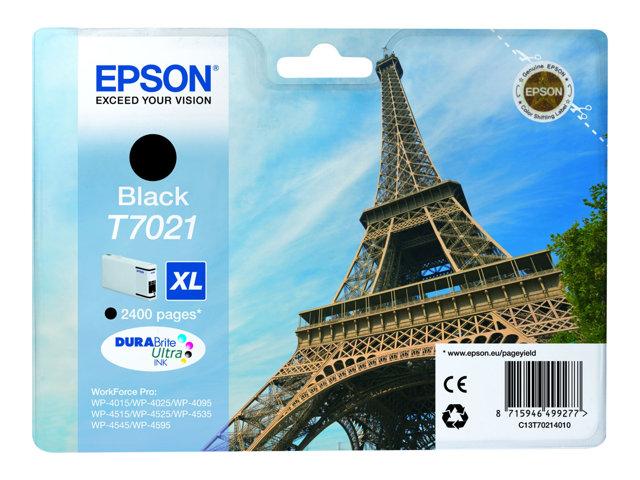 EPSON T702140 CARTUTX INY. TINTA NEGRE XL 2400 PG.