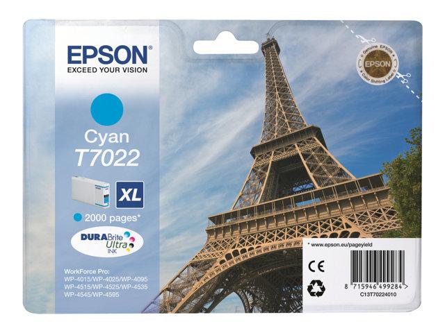 EPSON T702240 CARTUTX INY. TINTA CYAN XL 2000 PG.