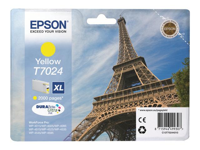 EPSON T702440 CARTUTX INY. TINTA GROCN XL 2000 PG.