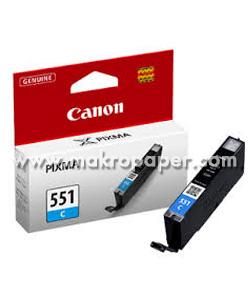CANON 6509B001 CLI-551C CARTUTX INYEC. TINTA  CYAN