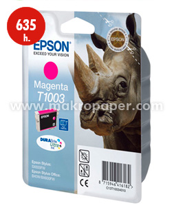Cartucho inkjet Epson T1003 Magenta