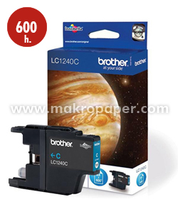 Cartucho inkjet BROTHER LC1240C Cyan