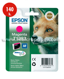 Cartucho inkjet Epson T1283 Magenta