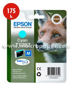 Cartucho inkjet Epson T1282 Cyan