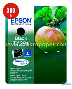 Cartucho inkjet Epson T1291 Negro