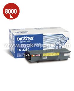 Toner láser Brother TN3280 Negro