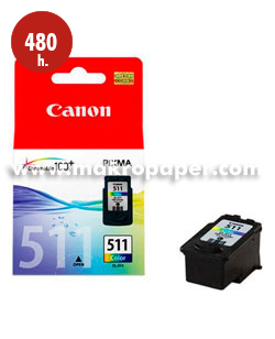 Cartucho inkjet CANON 511 (CL-511) color