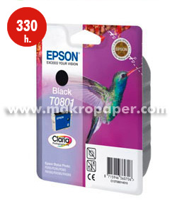 Cartucho inkjet Epson T0801 Negro