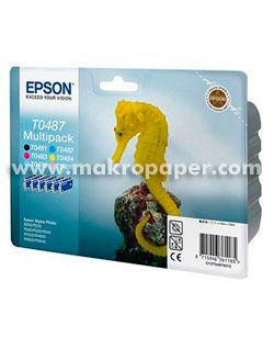 Pack inkjet Epson Pack T0487 (T0481+T0482+T0483+T0484+T0485+T0486)