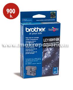 Cartucho inkjet BROTHER LC1100HYBK Negro
