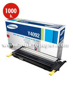 Toner láser SAMSUNG CLT-Y4092S Amarillo