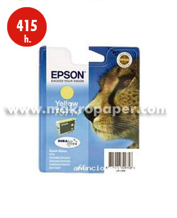 Cartucho inkjet Epson T0714 Amarillo