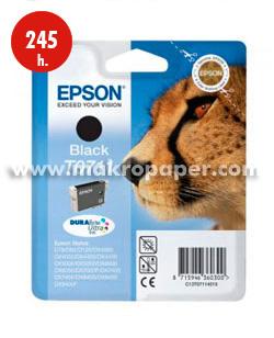 Cartucho inkjet Epson T0711 Negro
