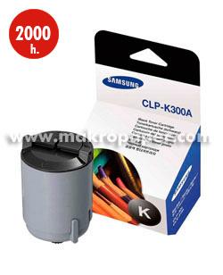 Toner láser SAMSUNG CLP-K300A/ELS Negro