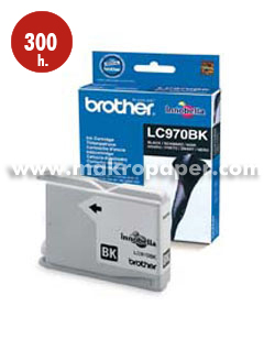 Cartucho inkjet BROTHER LC970BK Negro