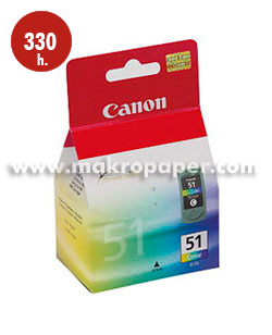 Cartucho inkjet CANON 51 (CL-51) color