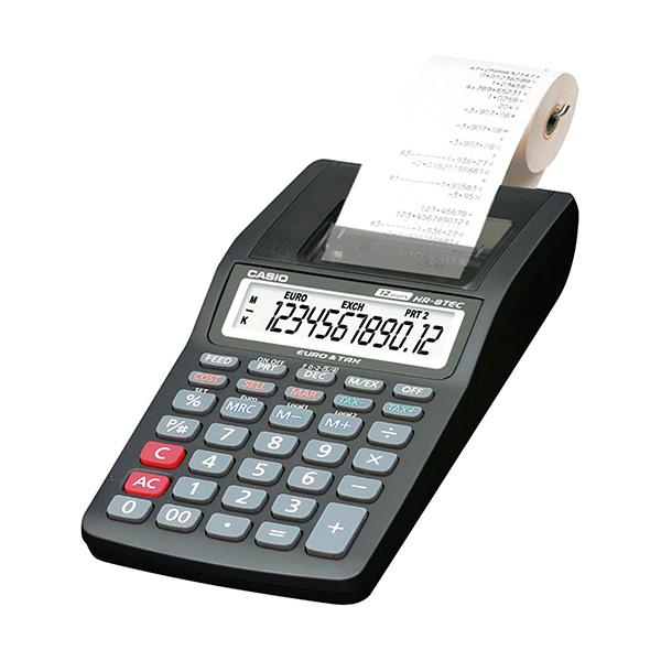 Calculadora Impresora Casio HR-8 TEC