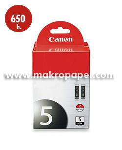 Cartucho inkjet CANON 5 (PGI-5BK) Negro