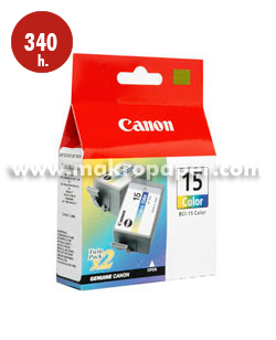 Cartucho inkjet CANON 15 (BCI-15C) color