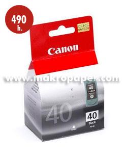 Cartucho inkjet CANON 40 (PG-40) Negro