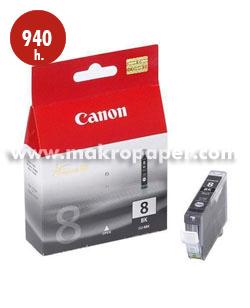 Cartucho inkjet CANON 8 (CLI-8BK) Negro