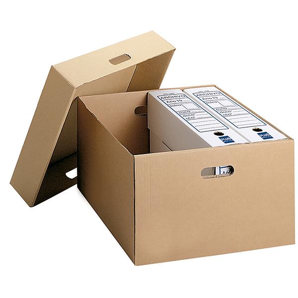 Contenedor para cajas de archivo definitivo