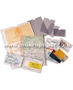 Portacarnets PVC con uñero Esselte 108x160mm (100u)